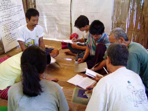 social work in a refugee camp